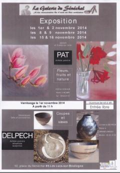 Exposition à la Galerie du Sénéchal les Lucs sur Boulogne Vendée